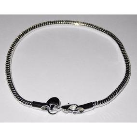 Pulsera Baño Plata 925 Tipo Pandora Compatible Beads Charms