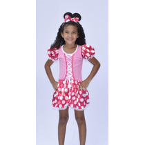 Fantasia Minnie Mouse - Infantil - Point Da Dança