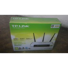 Router 300mbps Wireless N Tp-link Modelo Tl-wr940n