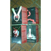 Livro. Saga Crepúsculo. 4 Livros Novos. Versão Normal.