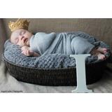 Mini-coroa Em Crochê - Book Fotos/recém-nascidos-newborn