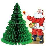 Decoración De Santa W / Tissue Accesorio Árbol Partido La P