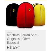 Mochilas Ferrarei Original