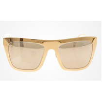 Óculos Dolce & Gabanna Dg2114 Gold Plated 18k Lançamento