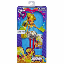Boneca Equestria Girls Rainbow Rocks Apple Jack