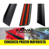 Lip Spoiler Aleron Maleta Maletero Universal 130cm / Karvas
