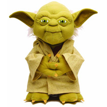 Boneco De Pelúcia Mestre Yoda Star Wars Guerra Nas Estrelas