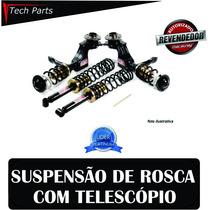 Kit Suspensão Regulável Rosca Macaulay Gol G1 Quadrado Todos