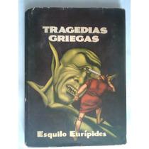 Tragedias Griegas Esquilo Y Euripides Libro Antiguo 1955