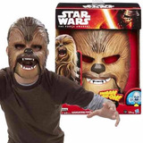 50%off Mascara Electronica Chewbacca Star Wars Disfraz B3226