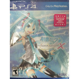 Hatsune Miku Project Diva X Hd Ps4 Sellado Delivery Stock Ya