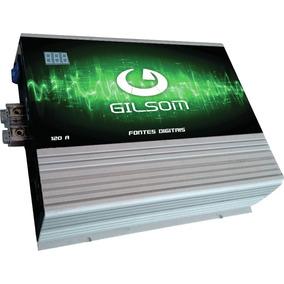 Fonte Digital Gilsom 120a 12.5 A 14.4 Volts Ac/dc Com Voltim