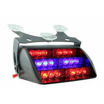 Luces Policiacas Blue Red 18x Led Police Personal Emergency