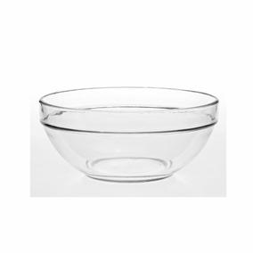 Ensaladera Bowl Apilable Vidrio Rigolleau 17 Cm Geo Bazar