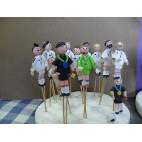 Equipo De Futbol Real Madrid (masa Flexible 11piezas)