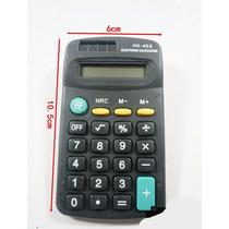 Calculadora Kenko Kk-402 Mesa Mão Bolso Display 8 Digitos