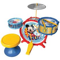 Disney Mickey Mouse Batería Musical Regalo Niño Envío Gratis