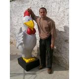 Polleria (pollo Plastico De 1, 70 De Altura)
