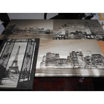 Cuadros En Sepia Estilo Paisajes Modernos Simil Fotografias