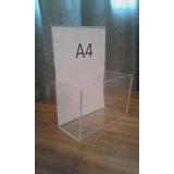 Exhibidor Acrílico A4 Contenedor Golosinas Art. Full-acril