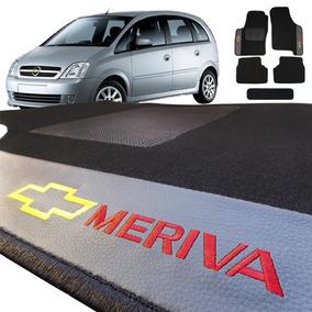 Jogo De Tapete Carpete Automotivo Meriva Bordado 5 Peças