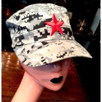 Gorra Camouflage Gris Con Estrella Roja Unit Envio Gratis