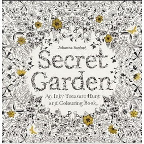 96 Páginas 2 Libros Tipo Mandala Contra Stress Secret Garden