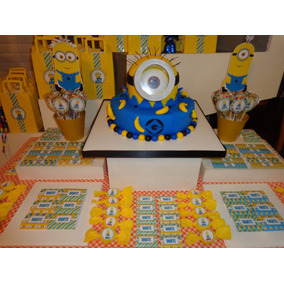 Candy Bar Minions Mi Villano Favorito Golosinas