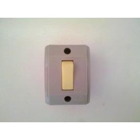 Interruptor 01 Tecla Simples De Sobrepor Pc Com 04 Unidades