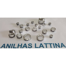 Anilhas Trinca Ferro 3.7 Mm Alumínio Pacote 10 Frete Grátis
