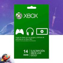 Xbox Live Gold 14 Dias Xbox 360 E One Digital