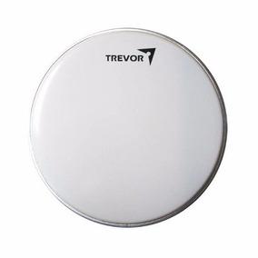 Parche Trevor Para Redoblante 14p Y Timbal Blanco Currugado