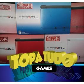 Nintendo 3ds Xl Seminovo Desbloqueado 32gb Jogos Destravado