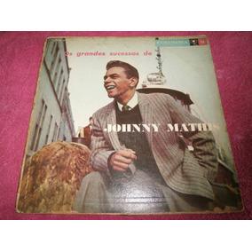 Lp Os Grandes Sucessos De Johnny Mathis, Disco Vinil