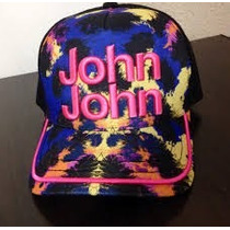 Boné John John Mesclado De Rosa Original
