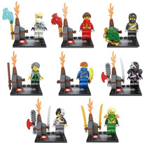 Minifigures Ninja Go - Escolha O Kit