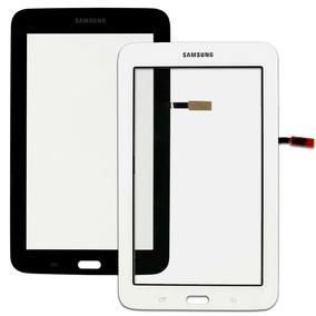Tela Touch Sm T110 Samsung Galaxy Tablet 3 Preto E Branco