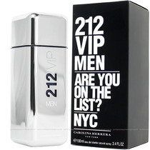 Perfume 212 Vip Men Carolina Herrera 100ml Masculino
