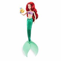 Boneca Disney Store Pequena Sereia Ariel No Brasil 2016