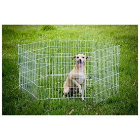 Cercado Grade Canil 6 Lados Grande Pet Cão Gato 12x
