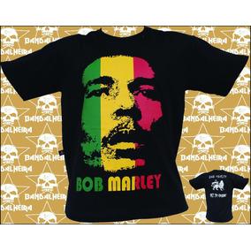 Camisetas - Bandas - Rock Bandalheira Bob Marley 110