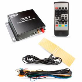 Receptor De Tv Digital Automotivo H Tech Full Hd Carro 80hd