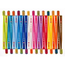 Kit Com 10 Escovas Dental Curaprox 5460 Ultra Soft Original