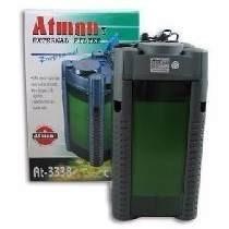 Filtro Canister Atman At-3338 110v C/ Mídias Filtrantes Top!