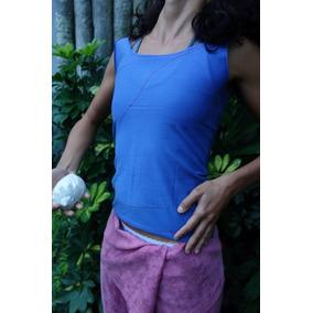 Pantalon Tailandes, Remera Azul, Ropa De Yoga