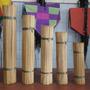 Vareta De Bambu 90 Cm P/pipas Gaiolas Aeromodelos... C/100