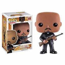 The Walking Dead Boneco Gabriel #386 Pop Funko 10cms