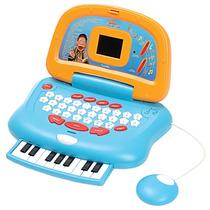 Laptop Criança Cocoricó Piano Musical Educativo Frete Grátis