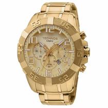 Relógio Technos Legacy Grande Dourado Os20ik/4x - Mega Promo