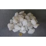 Piedras Chicas Cuarzo Blanco X Kg - Roladas Natural